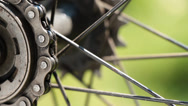 Stock Video Footage of Bicycle gear and chain 4