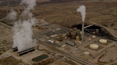 Desert Industrial Center Stock Footage
