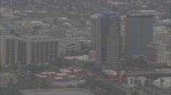 Desert City Stock Footage