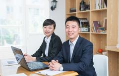 business confidence - stock photo