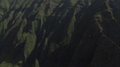 Mountains shadows ridges Stock Footage