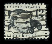 Postage stamp. Stock Photos