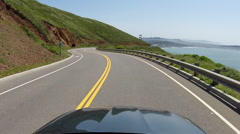 Cool Driving Golden Gate Bridge PCH Time Lapse  San Francisco HD Stock Footage