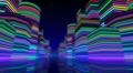 Neon Light City R1Bb2 4k Footage