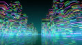 Neon Light City S1Ab2 4k Footage