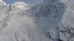 Ridges Snow Polar Himalaya Mountains Stock Footage