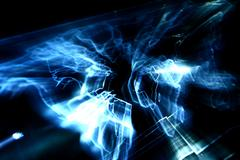 Abstract map glow Stock Illustration