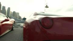 Ferrari pysäköity Dubaissa Arkistovideo