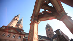 Cathedral of mainz - stock footage