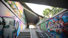 Graffiti Street Art Stock Footage