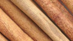Sticks cinnamon rotates. Stock Footage
