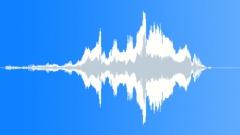 Cartoon accelerating joy shout Sound Effect