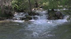 Scenic Fossil Creek Arizona Stock Footage