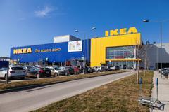 Ikea samara store Stock Photos