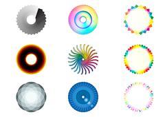 Different shapes Stock Illustration