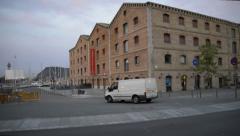 Museu d'Història de Catalunya - Barcelona Museum Stock Footage