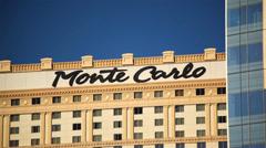 Monte Carlo Las Vegas 01 HD - stock footage
