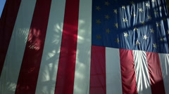 ZB '14 808 - US Flag - Angle 1 Stock Footage