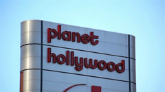Planet Hollywood Las Vegas 01 HD Stock Footage