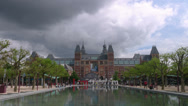 Stock Video Footage of Museum Square - Rijksmuseum