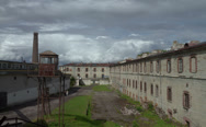 Stock Video Footage of Patarei Sea-Fortress Prison