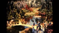 Busch Gardens ,Southern Bells Stock Footage