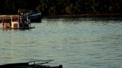 Danube River Rafting Stock Footage