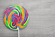 Stock Photo of spiral lollipop