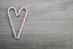 Stock Photo of christmas candy cane