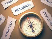 Stock Illustration of Compass Motivation