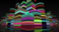 Neon Light City F2Ba2 4k Footage