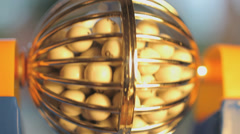 Bingo liikkuvan pallot Arkistovideo