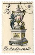 czechoslovakia - circa 1979: a stamp printed in czechoslovakia shows image of - stock photo