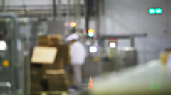 At the factory Stock Footage