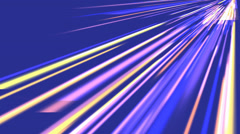 Beautiful generated Speed color lines neon,virtual striped data,fantasy spread Stock Footage