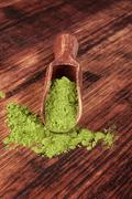 green superfood. - stock photo
