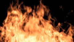 Flaming Fire Stock Footage