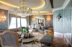 BAKU, AZERBAIJAN - JUNE 11: Ambassador suite of Jumeirah Bilgah - stock photo