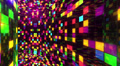 Disco Dance Floor Wall B01f 4k Footage