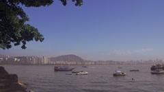 Rio De Janeiro harbor est shot 2 Stock Footage