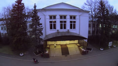 Edifice of central research institute of tuberculosis Stock Footage