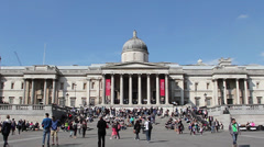 National Gallery Stock Footage