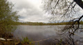 Rainy clouds over pond in nature reserve 4k or 4k+ Resolution