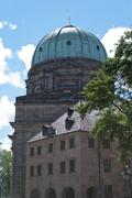 St. Elizabeth's Church in Nuremberg, Germany - stock photo