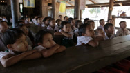 Stock Video Footage of Children In School in the Karen State of Burma