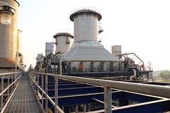 powerhouse - stock photo
