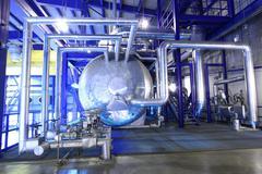 Steam boiler Stock Photos