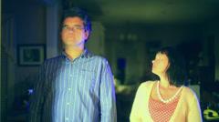 Losing lose husband sadness Stock Footage