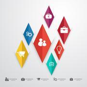 Business infographic-illustration Stock Illustration