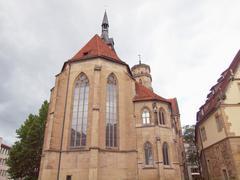 Stock Photo of Stiftskirche Church, Stuttgart